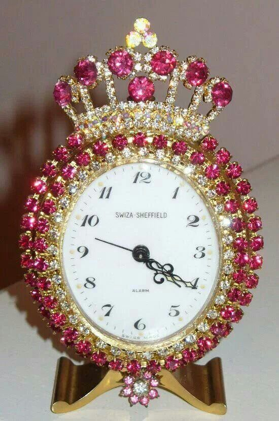 Pin By Jamie Clark On Pretty In Pink Vintage Alarm