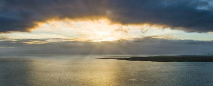 Essex Sunrise - Aerial Panorama