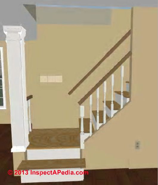 Best Cutout At The Bottom Of Staircase Instead Of A Solid Wall 400 x 300