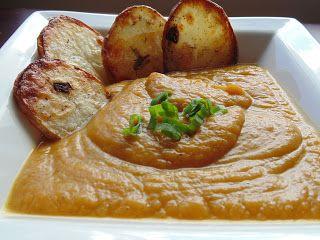 THAT girl.: Vegan Sweet Potato Soup
