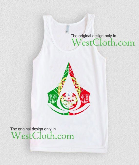 Assassins Creed Portugal Logo tank top Assassins Creed Portugal Logo  tank tops available for men and women adults