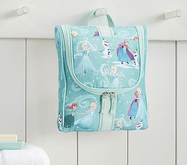 Mackenzie Aqua Disney Frozen Toiletry Bag Toiletry Bag