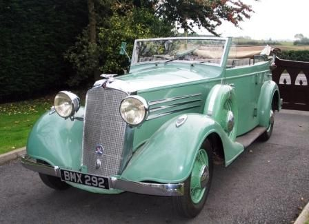 Vauxhall big six Cabriolet