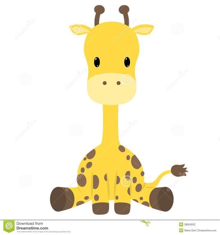 Pin By Bethany Trench On Geboortekaartje Vectoren Baby Giraffe Tattoo Baby Giraffe Pictures Cartoon Giraffe