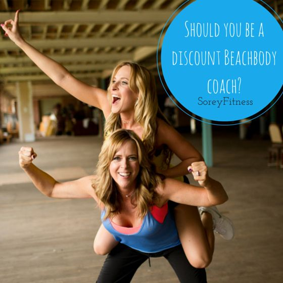 """Can you become a Beachbody coach just for the discount. YES, you can start earning the 25% Beachbody coach discount immediately too without ever """"coaching"""" someone."""