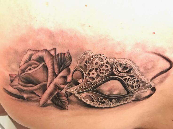Best 25 mask tattoo ideas on pinterest weird tattoos for Tattoo shops spokane valley