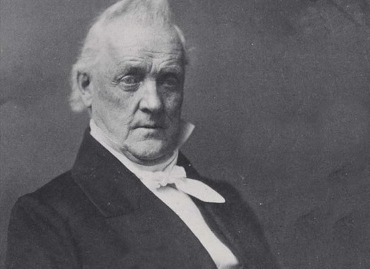 """Buchanan & William Rufus King""""I have gone a wooing to several gentlemen, but have not succeeded with a one of them."""""""