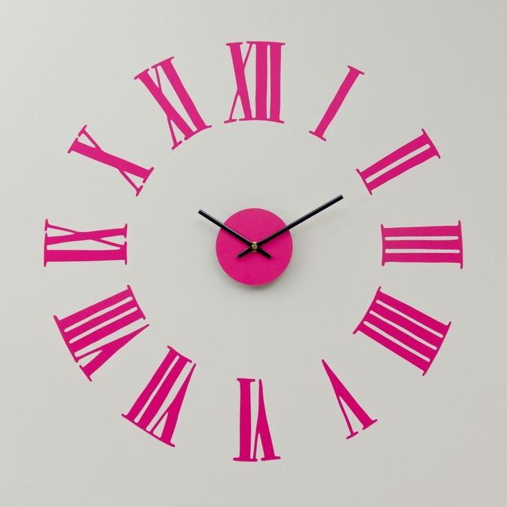 17 best Clock Wall Stickers images on Pinterest | Wall clings, Wall ...