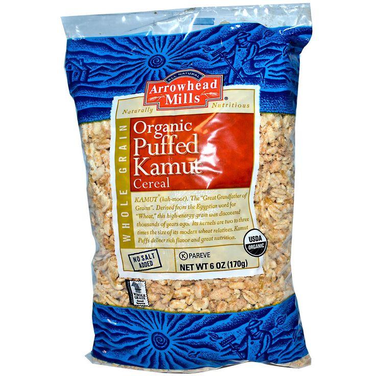 Arrowhead Mills, Organic Puffed Kamut Cereal, 6 oz (170 g) - iHerb.com