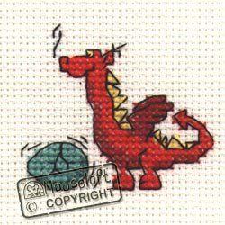 Mouseloft Mini Cross Stitch Kit - Red Dragon, Stitchlets Collection Mouseloft http://www.amazon.co.uk/dp/B003LKBE24/ref=cm_sw_r_pi_dp_BZkwvb08282PF