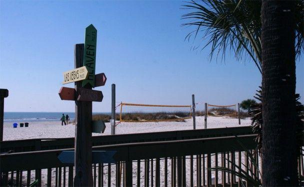as opções de praias de hilton head