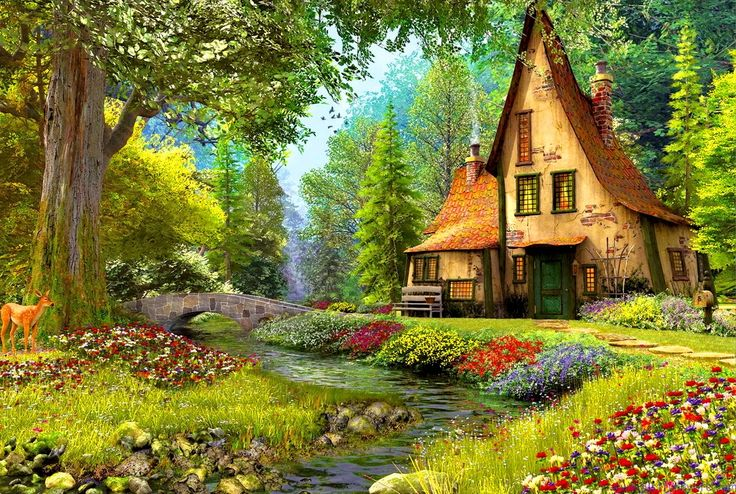 Cottage Hd Wallpaper Just Funny Life Places To Visit HD Wallpapers Download Free Images Wallpaper [1000image.com]