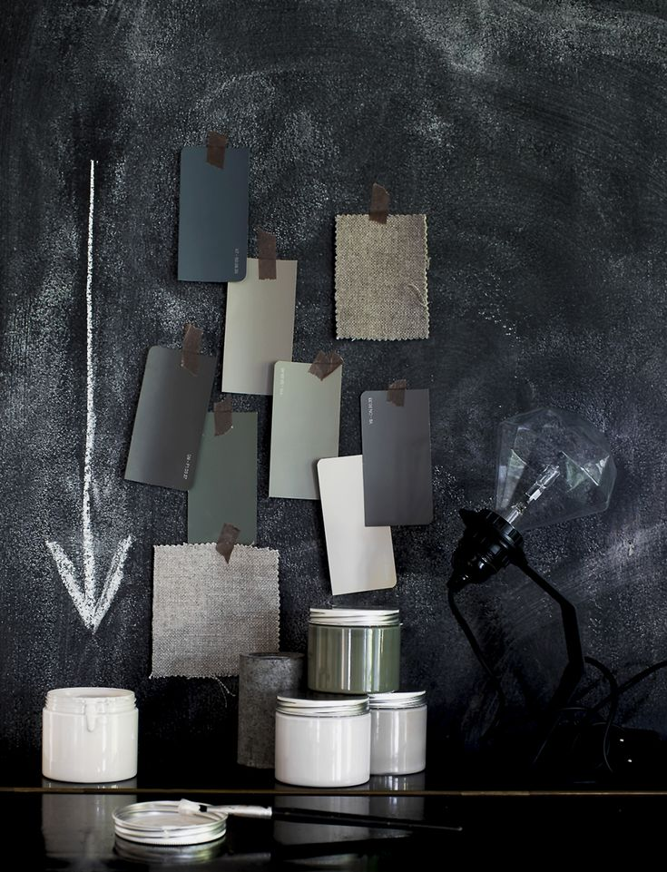 Daniellawitte color scheme, mood board, grey and black, vogue furniture, 2015 home decor trends | Find more inspiration ideas http://www.brabbu.com/en/inspiration.php