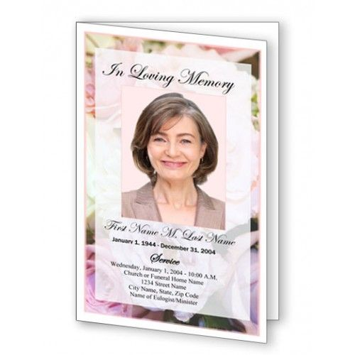 12 best Funeral Program Templates images on Pinterest Free - sample program templates