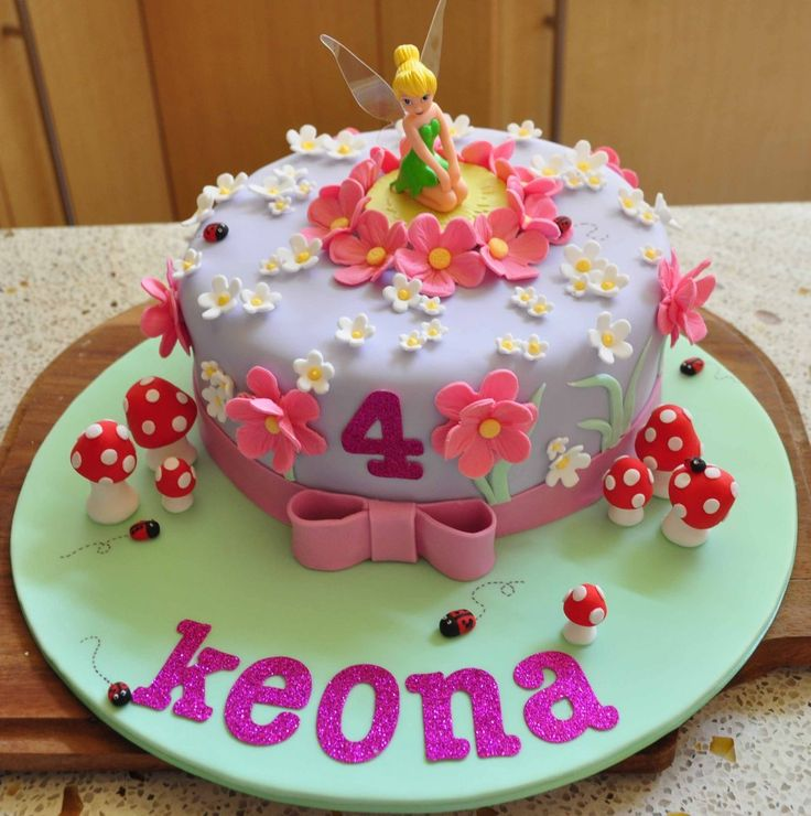 25+ best ideas about Tinkerbell Birthday Cakes on ...