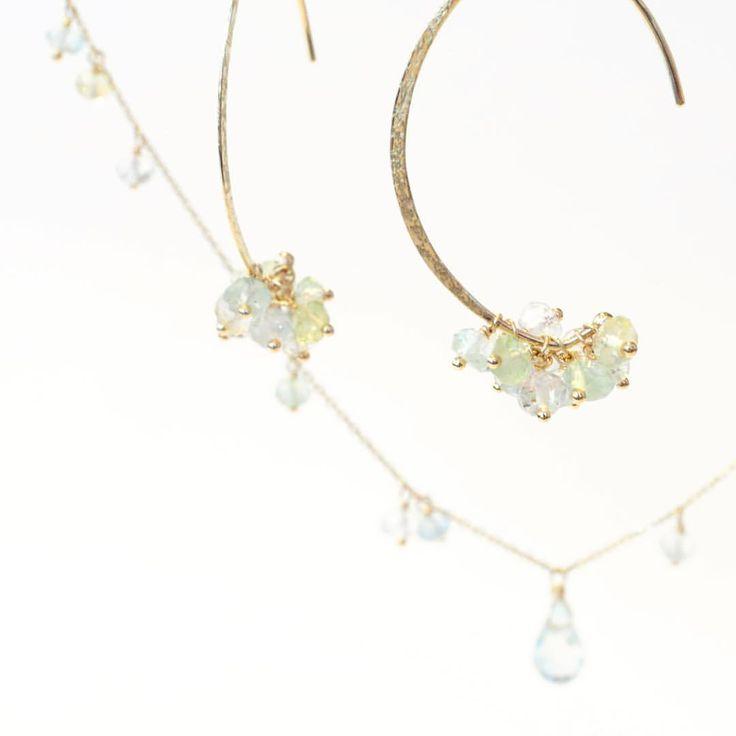 ☆anq.新作のご案内☆  ふわっと色付くニュアンスカラーのアクアマリン☆  絶妙な色の違い、組み合わせがとっても素敵! 優しい春の色味にわくわくします♪  暖かい春が待ち遠しいですね...☆ . . #anqjewelry  #jewelry #ジュエリー #necklace #ネックレス #pierce #ピアス #aqamarine #アクアマリン #天然石#stone #spring #blue#ブルー #yellow #イエロー #新作 #ファッション#fashion  anq.お取り扱い店舗  #銀座 #ginza #銀座サロン #東京 #新丸ビル #ブランティムール #大阪 #グランフロント大阪 #クークロワッサンノヴェル #kucroissantnovel #大阪高島屋