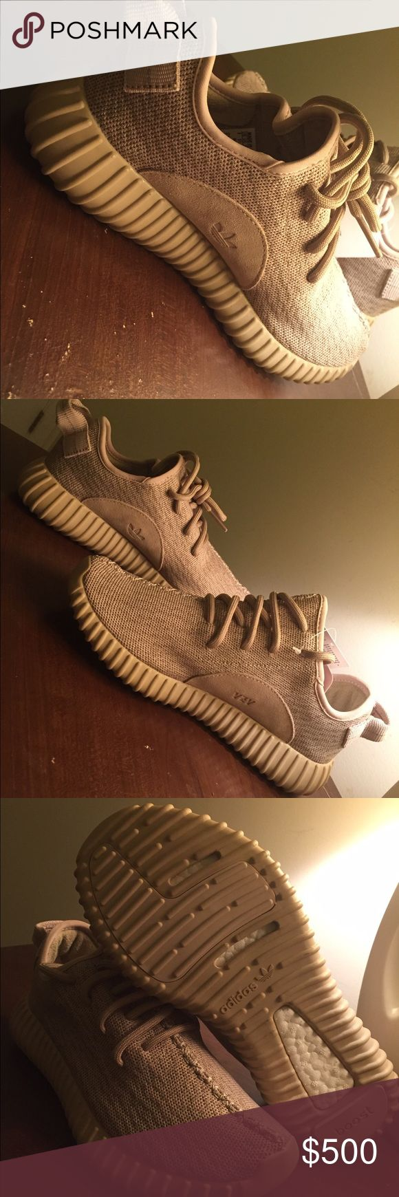 Yeezy boost 350 Oxford tan mens 6 women's 8.5 NMD Adidas Yeezy boost 350 Oxford tan size 6 Mens, size 8.5 women's. New with box IN HAND READY TO SHIP!  BUY AT YOUR OWN RISK. SUBMIT YOUR OFFERS Adidas Shoes Athletic Shoes