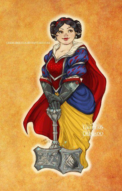 Disney Princesses As World Of Warcraft Characters - Neatorama