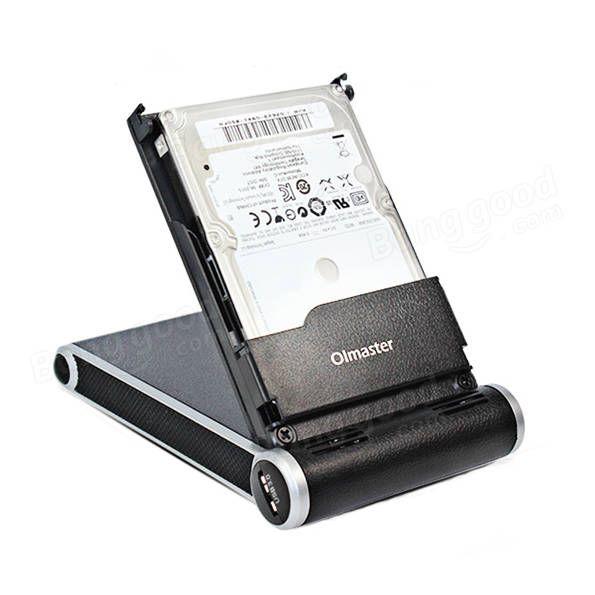 High Speed USB 3.0 External Hard Disk Enclosure Station for 2.5 Inch HDD SSD For Laptop Desktop Sale - Banggood.com
