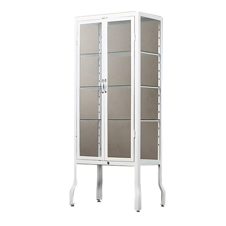 STORAGE & DISPLAY Dulton Doctors Cabinet - White