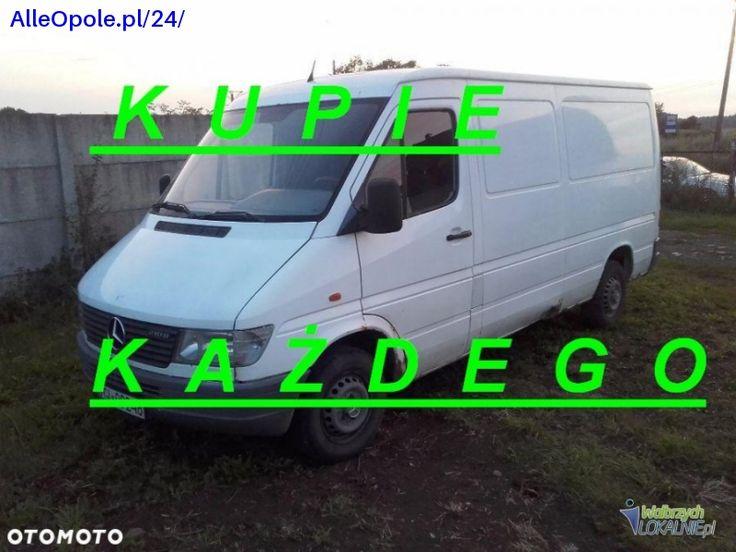 Kupimy kazdego Mercedes Sprintera. Kazdy model typ pojemnosc stan PILNIE!!!!  http://www.alleopole.pl/24/