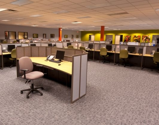 Choose Colors For To Help Foster An Environment That Stimulates Productive  Results. Call Center Furniture