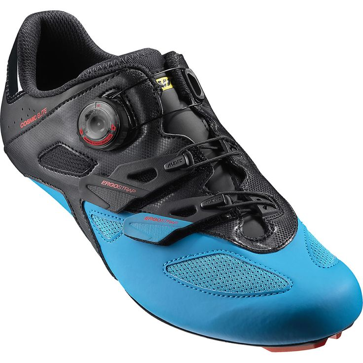 Mavic Cosmic Elite Road Shoes: Excellent fit The Mavic Ergo Dial QR on top of the foot offers strong… #Cycle #Run #Swim #TriSports #Cycling