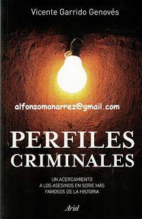 LIBROS EN DERECHO: PERFILES CRIMINALES