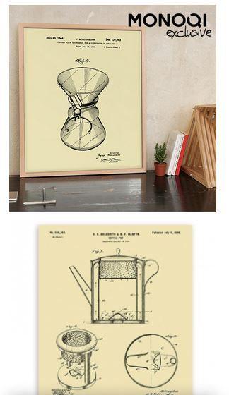 gesehen auf Monoqi! Poster, die die Kaffekunst zelebrieren
