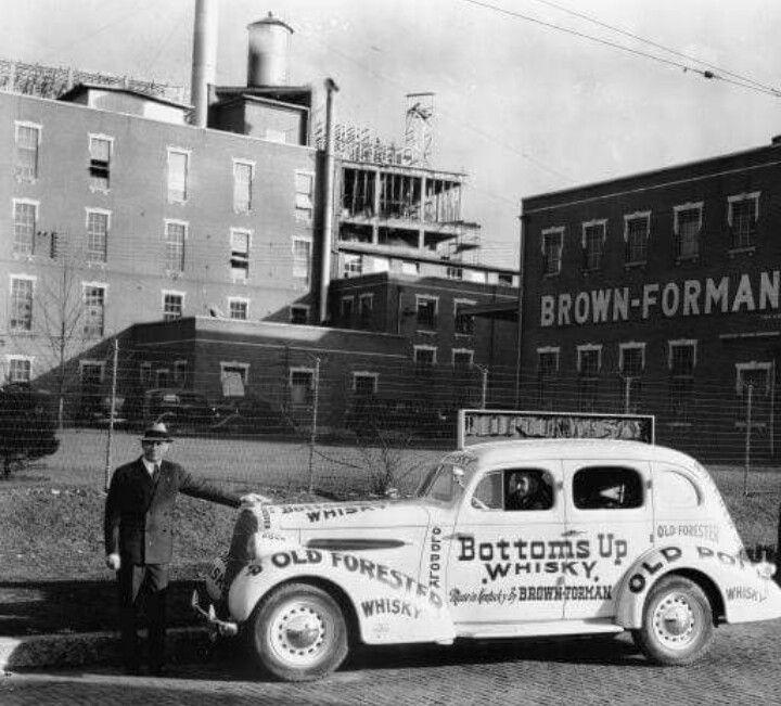 Brown Forman Distillery, Louisville, Ky. 1936