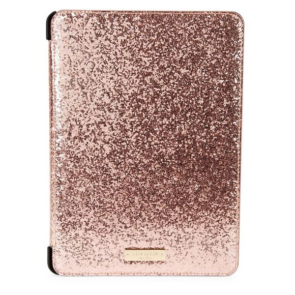 KATE SPADE GLITTER BUG ROSE COLOR iPad Air 2 case KATE SPADE GLITTER BUG ROSE COLOR iPad Air 2 case  NWT. First three photos are from the Internet. kate spade Accessories Tablet Cases