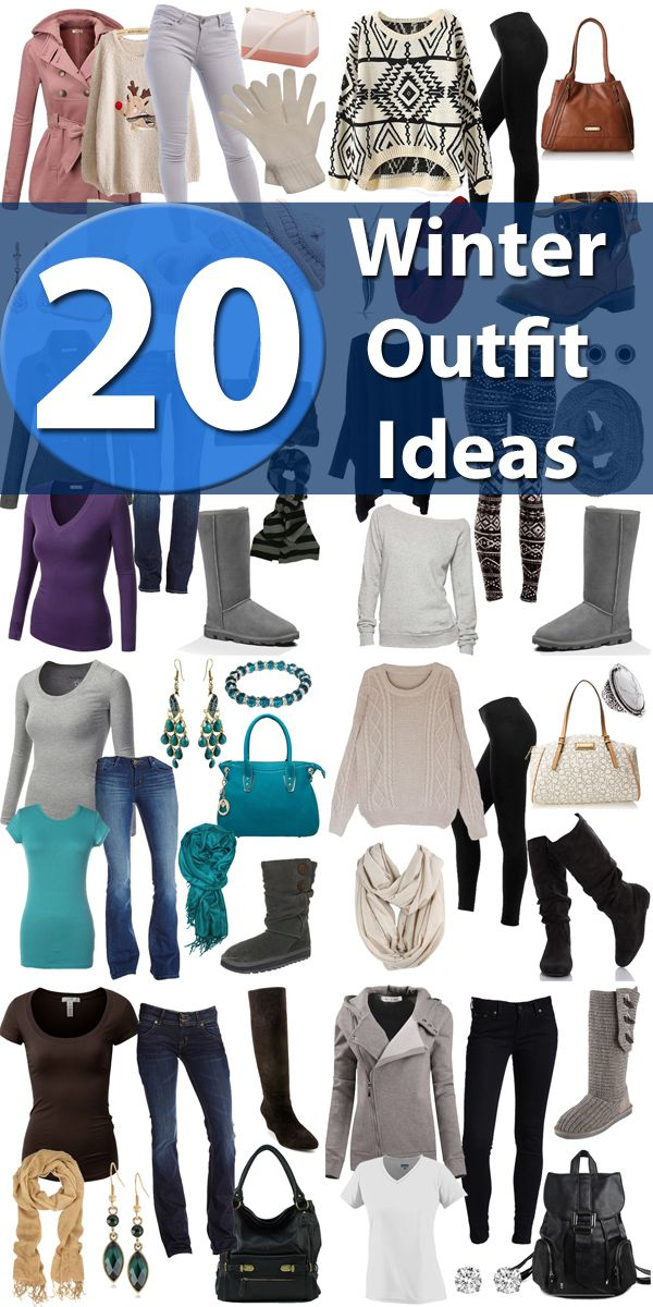 Check Out These Winter Fashions With 20 Winter Outfit Ideas And Then Head  To Your Local