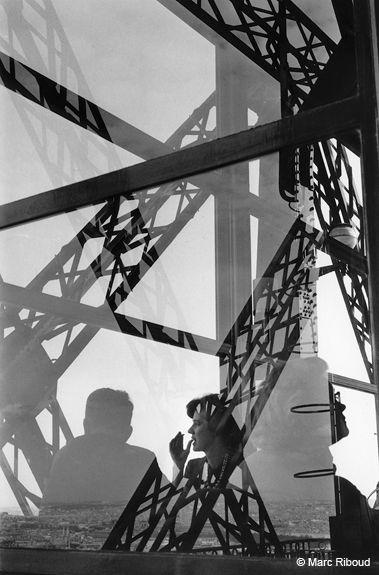 Eiffel Tower Paris 1964 Marc Riboud