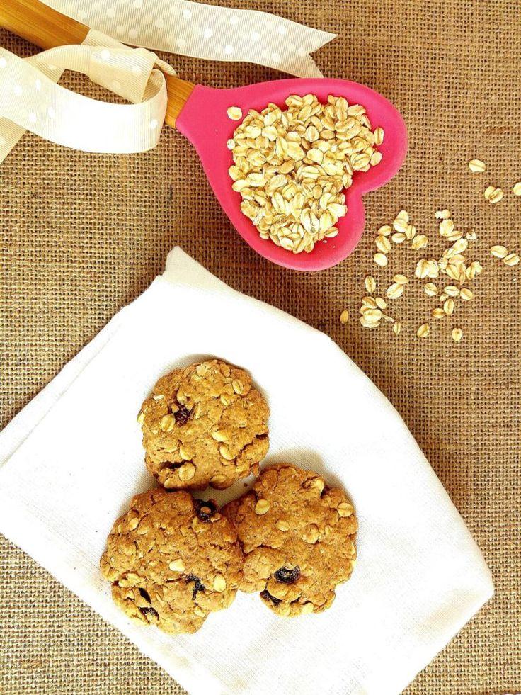 Oatflakes and malt cookies  Biscotti al malto e fiocchi d'avena