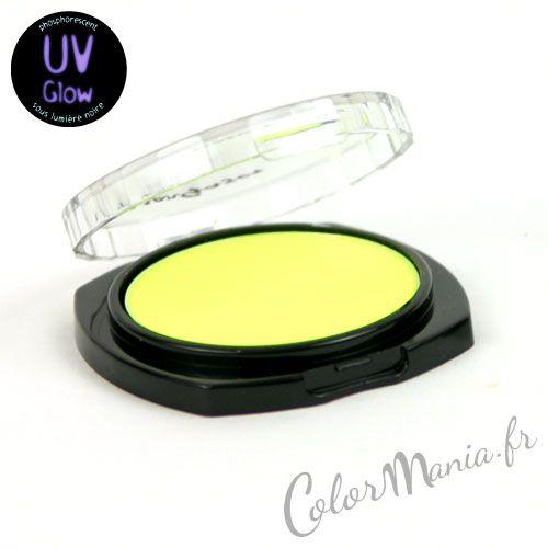 Fard à Paupière Jaune UV -Stargazer - Palette Vive | Color-Mania (http://www.color-mania.fr/boutique/fard-a-paupiere-jaune-uv-stargazer/#)