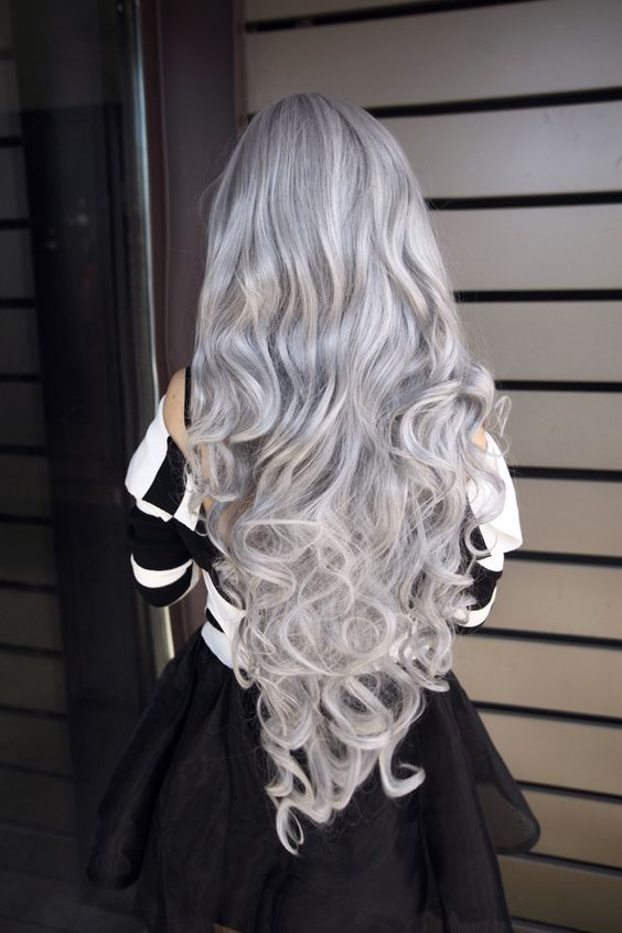 8 best extensions tie and dye silver gris images on. Black Bedroom Furniture Sets. Home Design Ideas