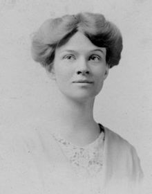 Katherine Martha Houghton Hepburn..co-founder of Planned Parenthood and suffragette