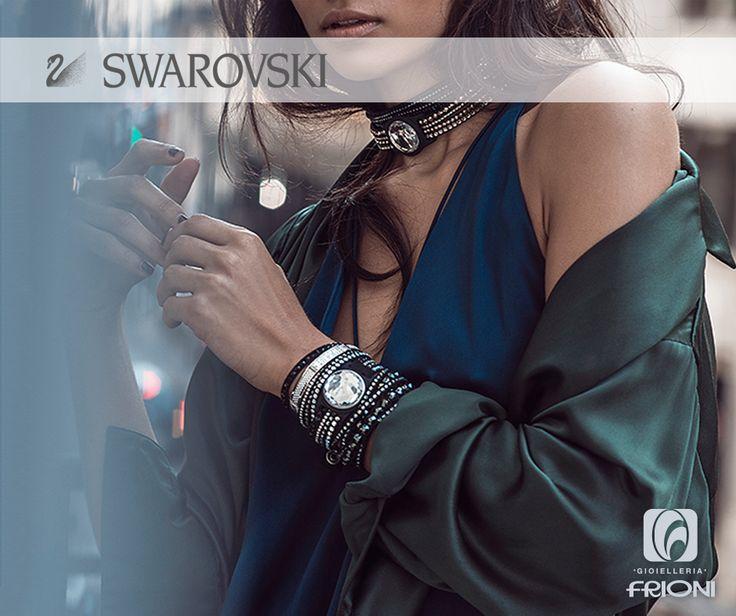 Personalizza il tuo stile con la nuova collezione Swarovski. Scopri l'assortimento nei nostri negozi di Tecchiena d'Alatri e Anagni  #gioielli #swarovski #look