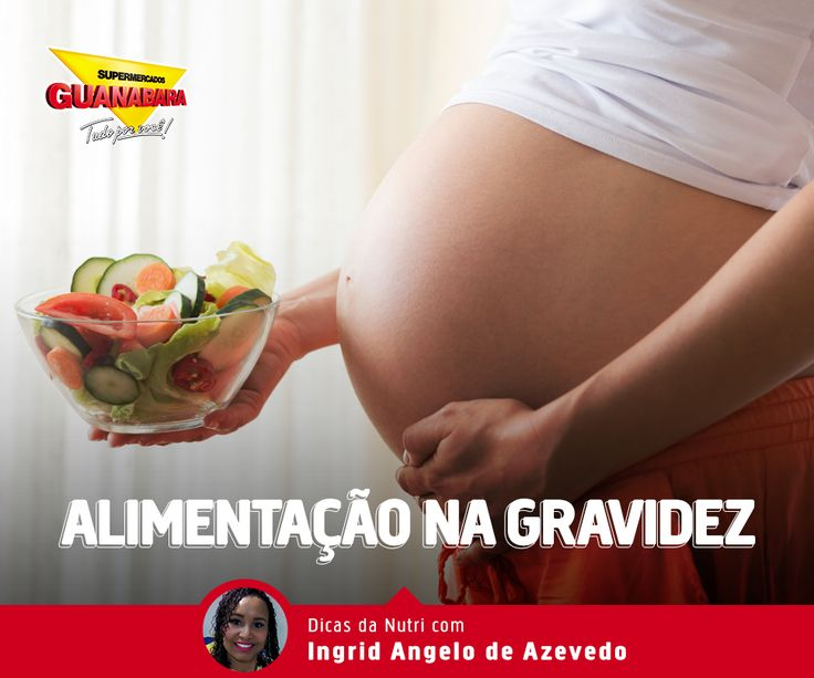 Alimentação na gravidez — Supermercados Guanabara