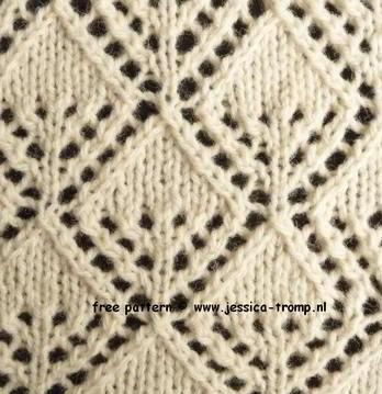 Knitting Stitches For Lace : 1000+ ideas about Lace Knitting Stitches on Pinterest Knit Stitches, Knitti...