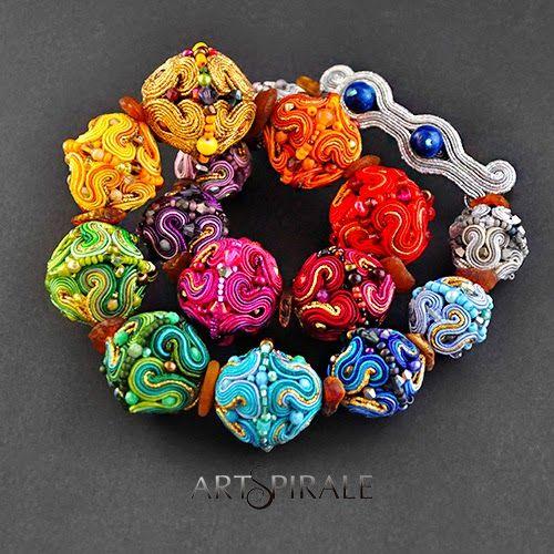 ARTSPIRALE artystycze wyroby z duszą: 3D Kolia.