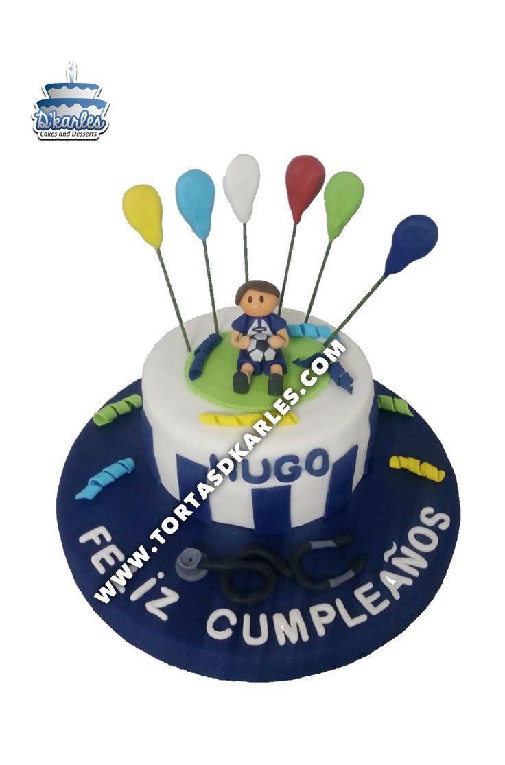 Torta Alianza Lima, ideal para festejar al hincha de AL, preparala en el sabor de tu preferencia y modela el muñeco con masa de flores, sorprendelo!