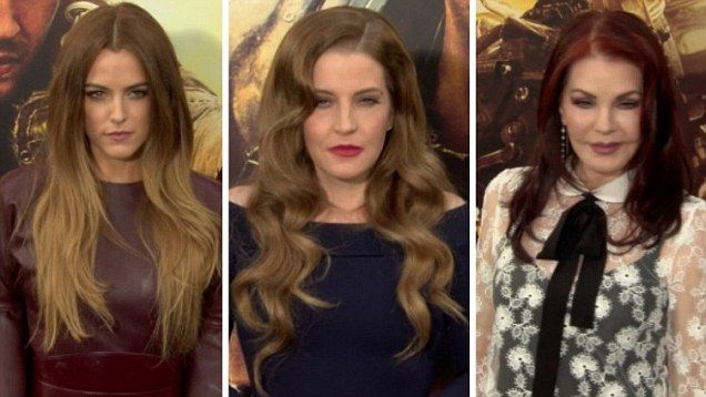 Riley Keough, Lisa Marie Presley and Priscilla Presley all walked the red carpet at the premiere of Mad Max: Fury Road at TCL Chinese Theatre in Hollywood.