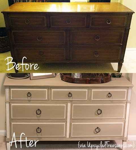 Repin this #DIY #Mid-Century #Dresser Makeover via #Upcycled Treasures.. http://upcycledtreasures.com/2013/04/diy-mid-century-dresser-makeover/
