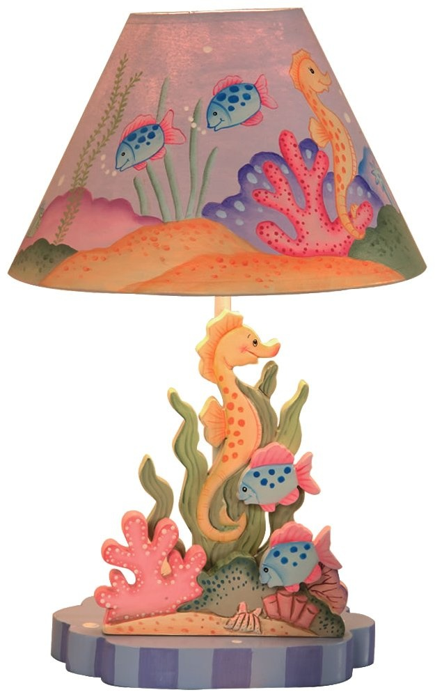 Teamson Children's Table Lamp - Under the Sea - Best Price
