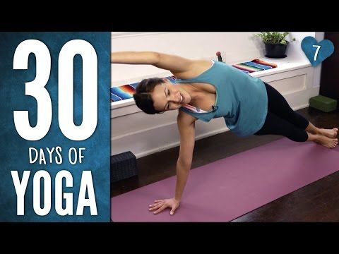 Day 7 - Total Body Yoga - 30 Days of Yoga - YouTube  30 mins, 120 calories, 3/19/15