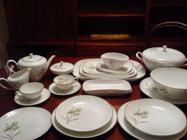 Vajilla porcelana Bidasoa vintage | MilanunciosTop.com