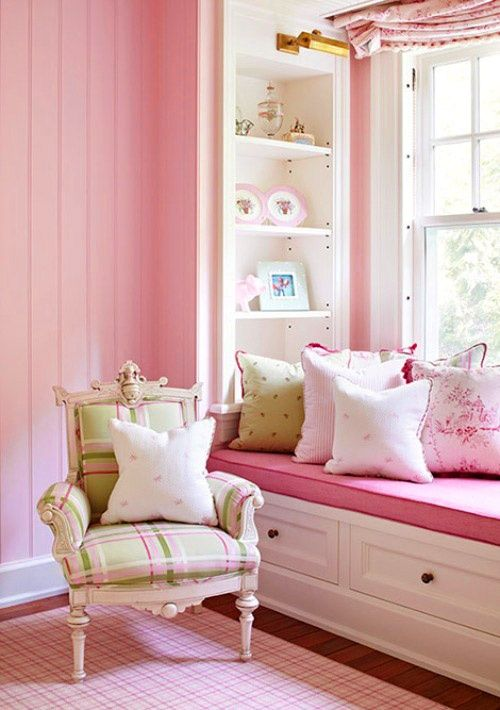 1167 best Pink, magenta, rose & blush interiors and room decor ...
