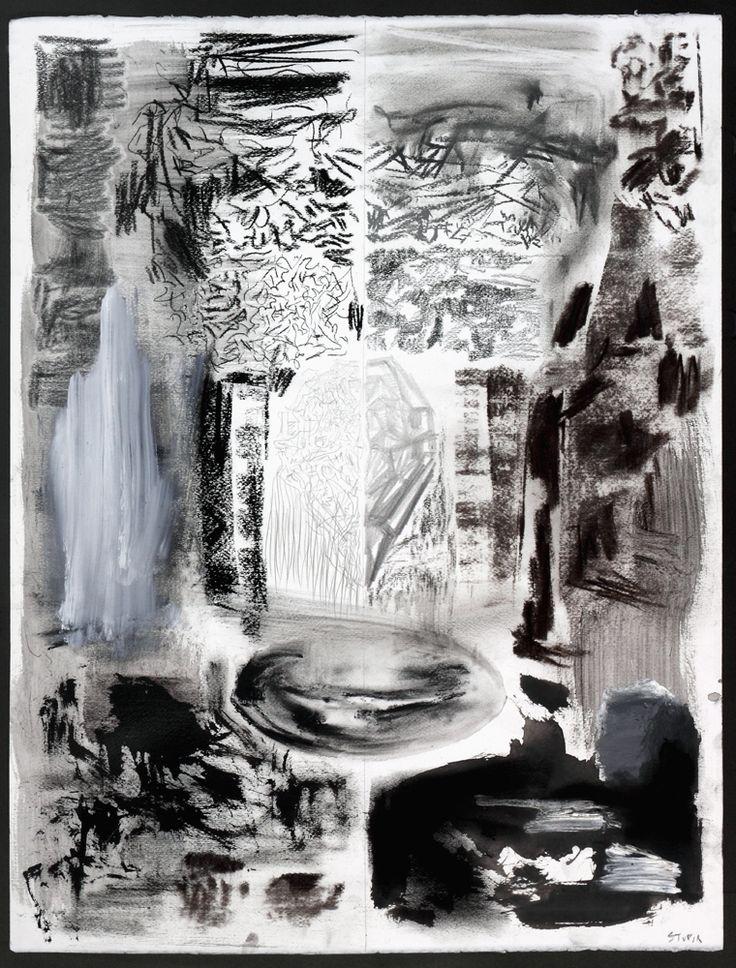 "Eduardo Stupía, ""Sin titulo"", 2010, Mixed media on paper, 71 x 55 cm. Photo credit: Jorge Mara - La Ruche."