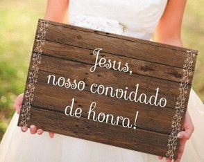 Jesus Plate Nosso Convidado de Honra   – 12/Maio